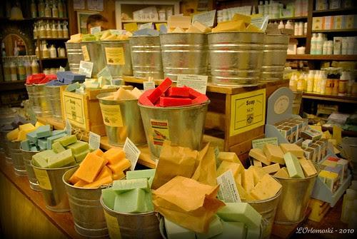 Buckets of Soap