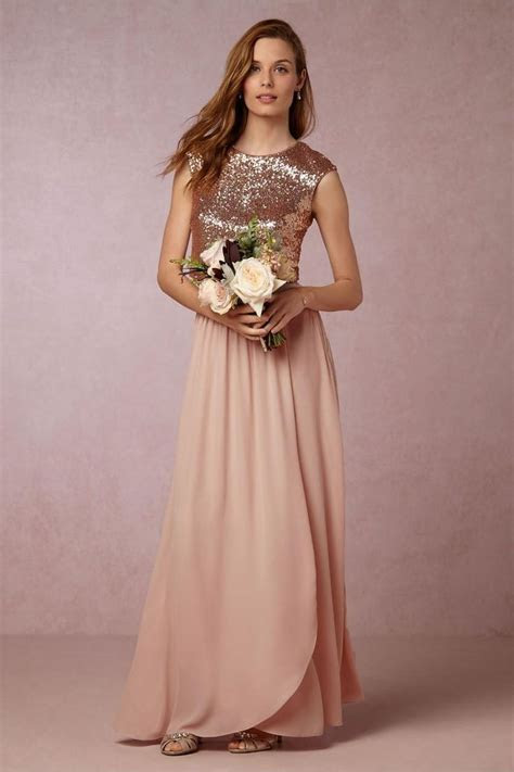 25  Best Ideas about Rose Gold Bridesmaid Dresses on