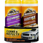 Armor All 8761 Cleaning and Leather Wipes