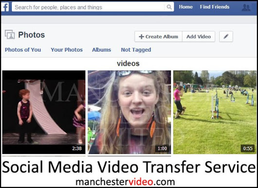 Social Media Video Transfer Service UK - Facebook & YouTube | Manchester Video Limited