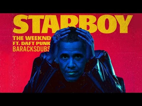 Watch Obama sing Starboy