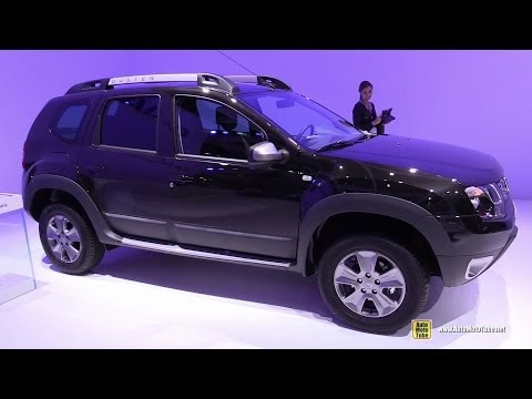auto mecanique auto show 2015 dacia duster exterior and interior walkaround. Black Bedroom Furniture Sets. Home Design Ideas