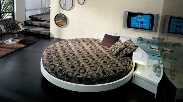15 Most Amazing Modern Round Beds Ideas You'll Ever See 7