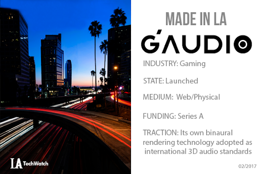 LA Startup G'Audio Lab is Changing the Way You Game