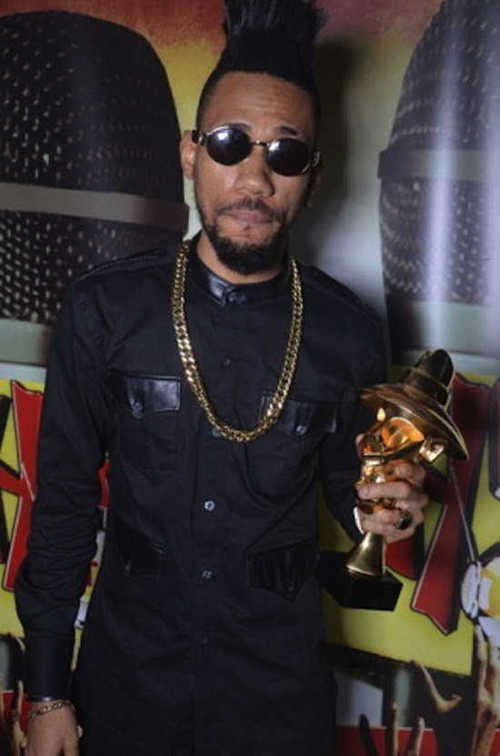 The Headies 2013 Phyno Photos: Olamide Dominates 2013 HEADIES Awards With 3 Wins + Full List of All Winners