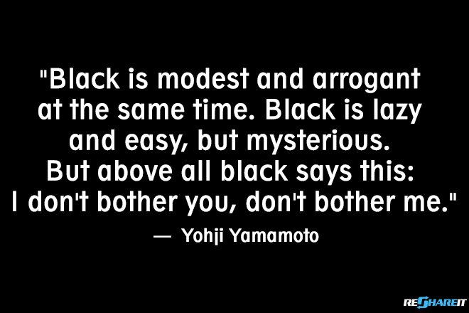 Black Magic 10 Fashion Quotes Only People Who Love Dressing In