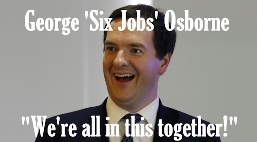 George Osborne needs how many jobs to make ends meet?