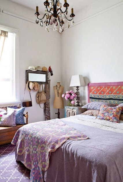 ideas for bedroom decor: beautiful bohemian bedroom
