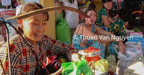 Vietnam || Tam Nong Rural Market || Dong Thap Province