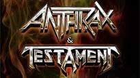 Anthrax and Testament with Death Angel pre-sale password for early tickets in Cleveland