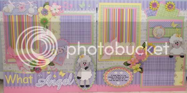 Angel Paper Piecing (baby girl)