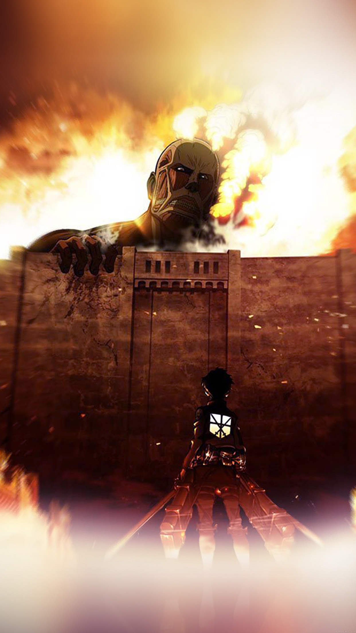 Iphone Anime Wallpaper Attack On Titan
