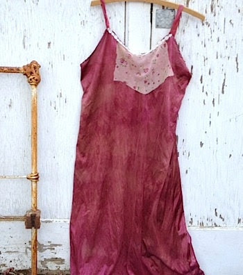 raspberry smoothie summer party slip dress rustic embroidery lace silk vintage cowgirl cowboy boots wedding ranch prairie rustic - kateblossom