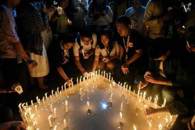 UST marks Atio's 40th day of death with candle-lighting ...