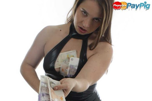 Phone Sex Pay Pig - Financial Domination Mistress Wants Your Money Now