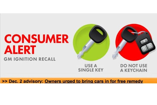 Get to Dealers, NHTSA Urges Consumers in GM Ignition-Switch Recall | Edmunds.com