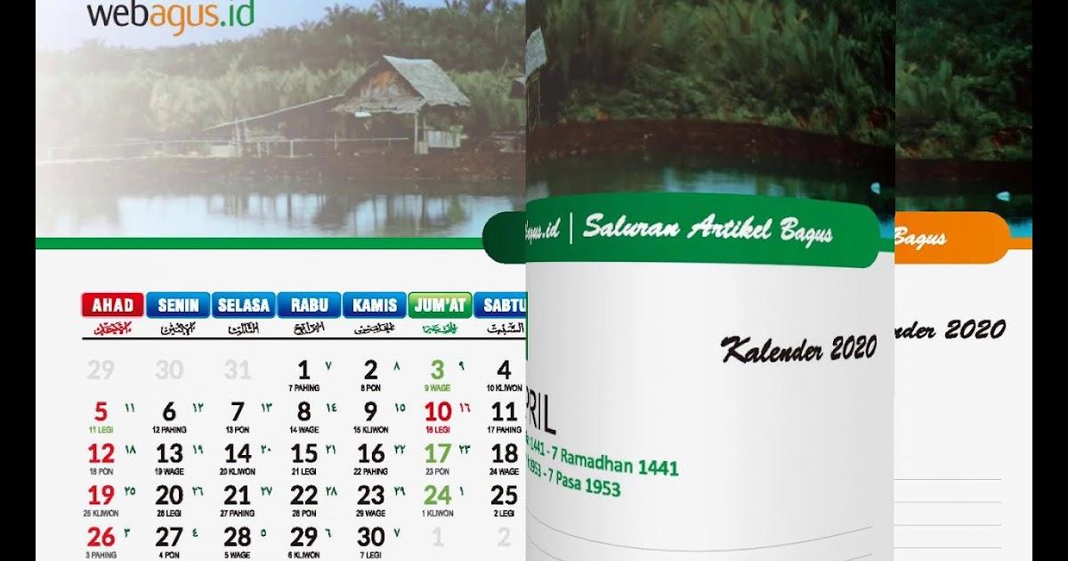 35+ Populer Download Desain Kalender Duduk 2020, Desain ...
