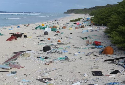 A Once Pristine Pacific Island Is Now Covered By 17 Tons Of Plastic Trash