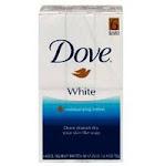 Dove Beauty Bar Soap, White - 4.75 Oz, 6 Ea
