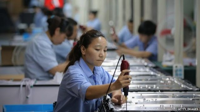 #Business : China's 7% growth beats expectations