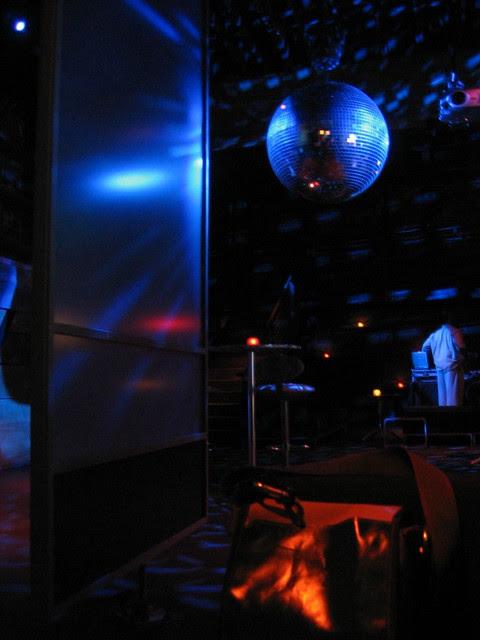 disco ball, aura