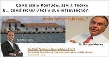 Marques Mendes no Café com...no Seixal<br> Uma oportunidade dourada de discutir assuntos sérios num ambiente informal