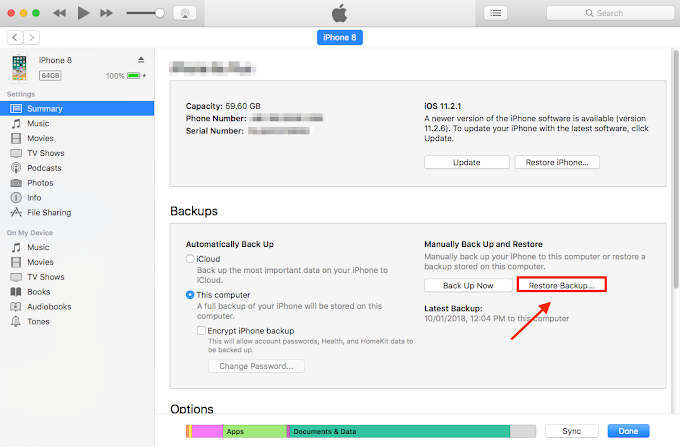 3 Ways to Recover Lost Data After iOS 12\/12.1 Update iMobie