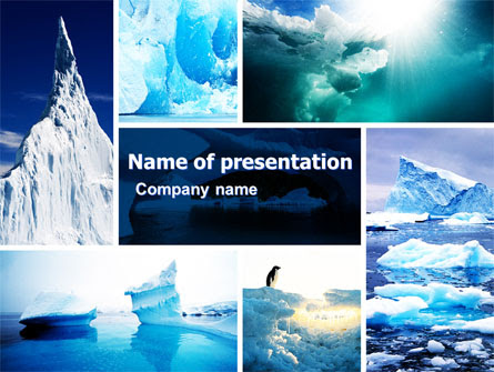 Iceberg Presentation Template For Powerpoint And Keynote Ppt Star