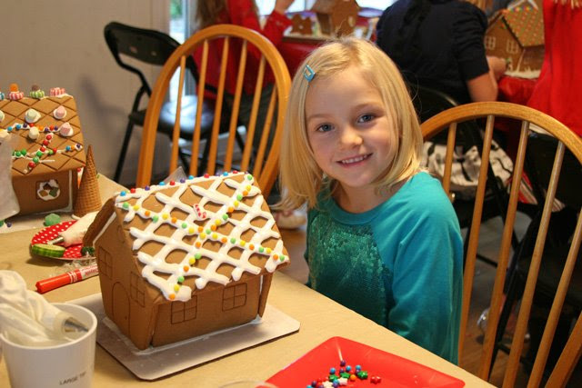 Gingerbread House Decorating Party Glorious Treats