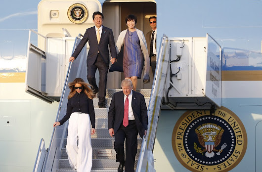 Over Weekend Trip and Despite North Korea Missile Launch Trump Affirms Alliance with Japan Strong as Ever!