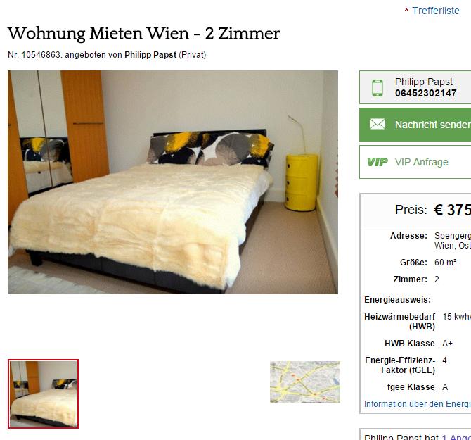 Wohnungsbetrug.blogspot.com: Papst.philipp@gmx.at Alias