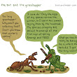 Something small and goofy. Remember the Aesop's Fable of...