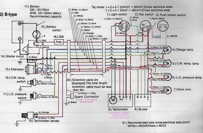 Yanmar Alternator Wiring Manual