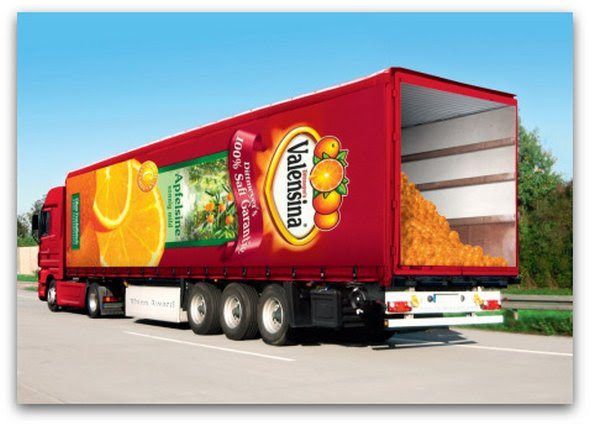 truck ad designs 07 in Funny 3D Truck Ad Designs