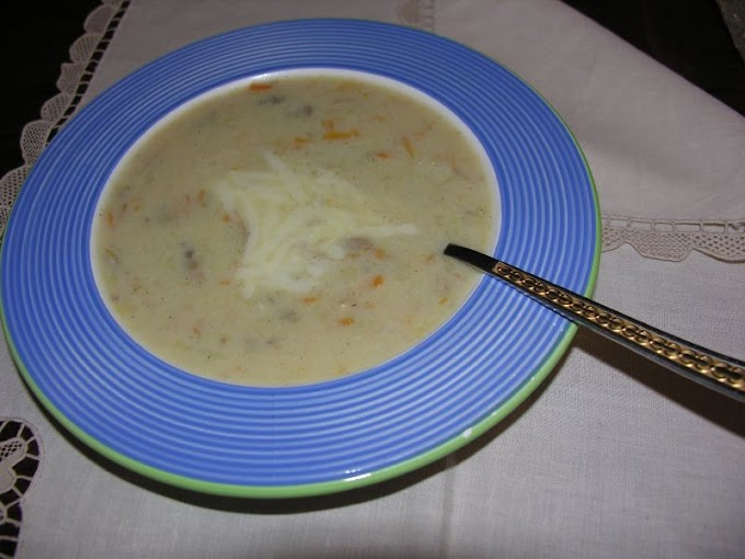 Pirinçli Mantar Çorbası