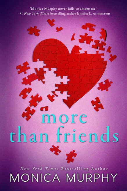 Cover Reveal: More Than Friends by Monica Murphy