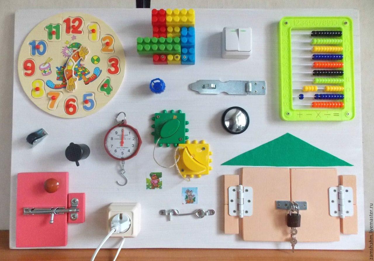 Painel Sensorial No Estilo Montessori Para Bebes E Criancas