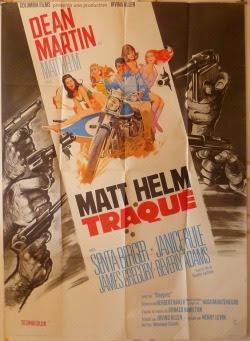 The Ambushers French movie poster (1967). art by Robert McGinnis