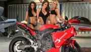 Lucy Pinder Yamaha R1