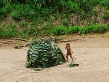 Uncontacted Amazon tribesperson, Peru