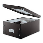 Media Storage Box, Holds 120 Slim/60 Standard Cases SNS01658