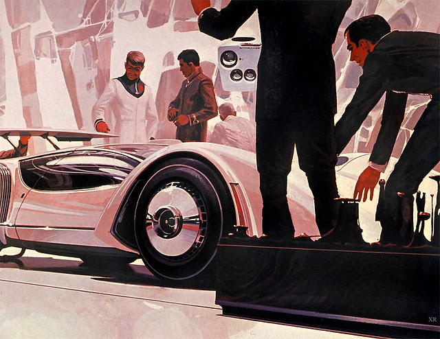 ... racecar - Syd Mead
