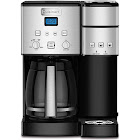 Cuisinart SS-15 Coffee Center 12-Cup Coffee Maker with Single-Serve Brewer - Black/Silver