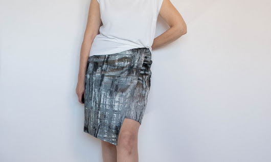Simple Wrap Skirt: A Quick Festive Make - Dream. Cut. Sew