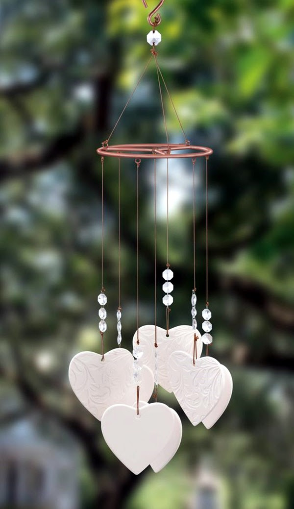 Pictures Of Heart Shaped Wind Chimes Design Kidskunstinfo