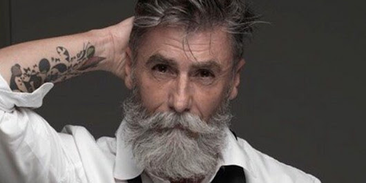 This 60-Year-Old Male Model Is Proof It's Never Too Late To Follow Your Dreams