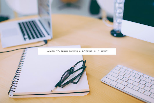 When To Turn Down A Potential Client - Kory Woodard