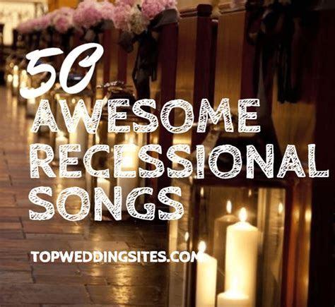 Team Wedding Blog Recessional Songs: 50 Ideas