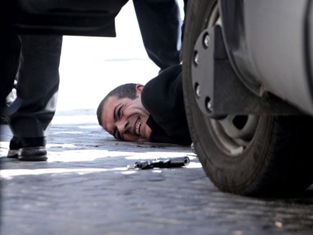 Autor do ataque foi detido pouco depois dos disparos (Foto: AP Photo/Mauro Scrobogna, Lapresse)