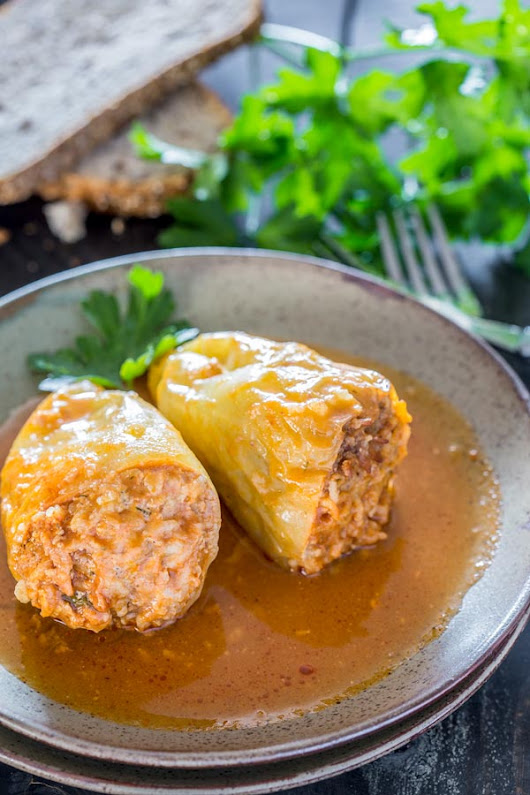 Stuffed Peppers Romanian Style | CookingGlory.com